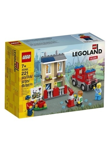 Lego Lego Legoland Exclusive Özel Sezon Ürünü Itfaiye Renkli